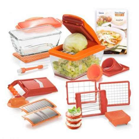 Nicer Dicer Chef S Deluxe 20tlg