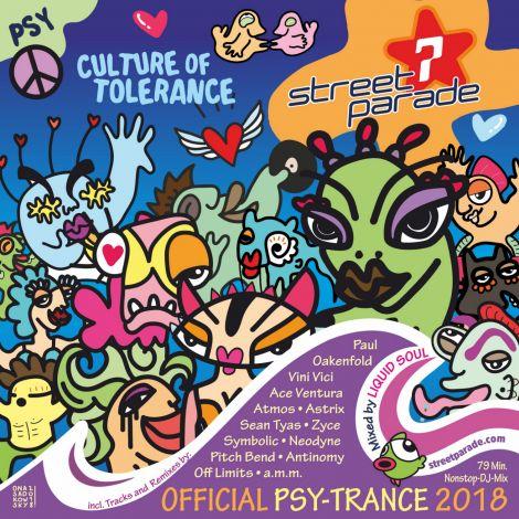 Street Parade 2018 Psy-Trance