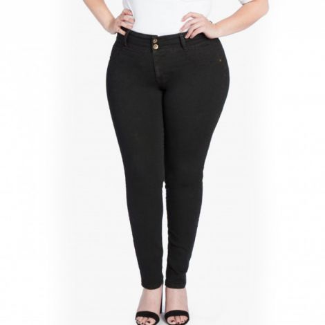 My Fit Jeans 44-50 schwarz