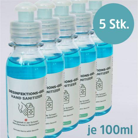 Desinfektions-Gel 5 Stk