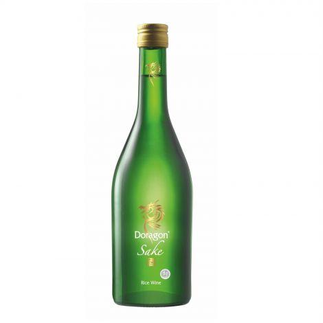 Doragon Sake (green bottle)
